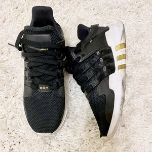 Adidas EQT Support ADV W Black Gold Women 7.5